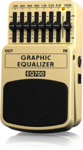 BEHRINGER EQ700 Graphic Equalizer
