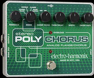 ELECTRO-HARMONIX Stereo Poly Chorus