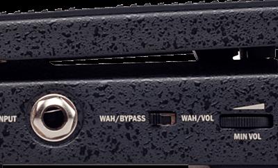 JOYO Classic Wah側面にあるスイッチ類