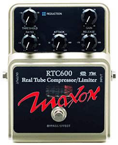 MAXON RTC600 Real Tube Compressor/Limiter