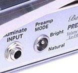Shin's Music Baby Preamp Volumeに搭載の2モードスイッチ