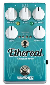 WAMPLER PEDALS Ethereal Reverb and Delay