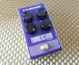 TC ELECTRONICの激安フランジャー Thunderstorm Flanger