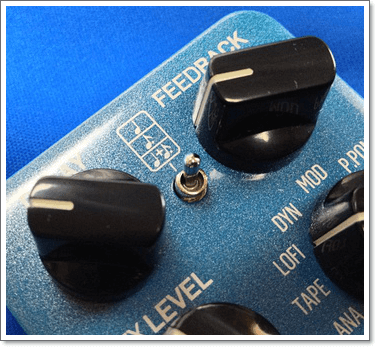 TC ELECTRONIC Flashback Delay & Looper の符割り