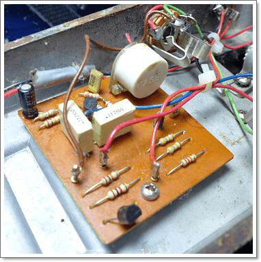 JEN CRYBABYのオリジナル回路