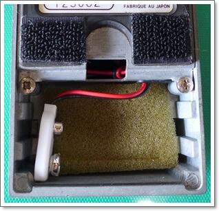 電池スナップが切れてしまい修理したMAXON DD-01その2