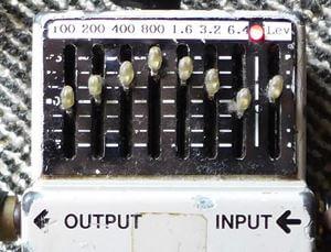 ギターソロに最適なミッドブースト:グラフィックイコライザーの使い方