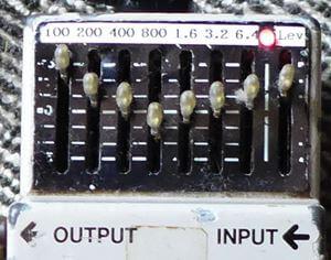 大型アンプの鳴りを再現:グラフィックイコライザーの使い方