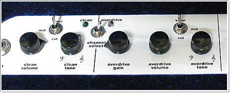 Zinkyアンプのトーンコントロール