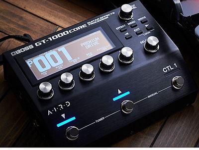 フラッグシップ・モデルのGT-1000をポータブルなサイズに凝縮したGT-1000CORE