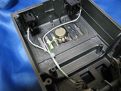 [ボリュームペダル] BOSS FV-100の内部配線交換02
