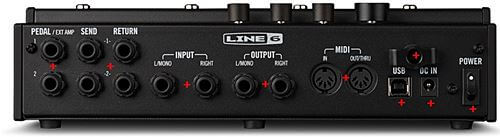 LINE6 LINE6 HX Effects 入出力