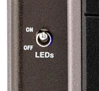 FENDER TREAD-LIGHT VOLUME EXPRESSIONのLEDスイッチ