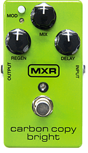 MXR M269SECarbon Copy Bright Analog Delay
