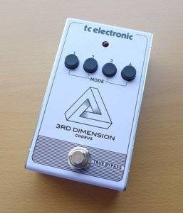 TC ELECTRONIC 3RD DIMENSION CHORUSの使用感