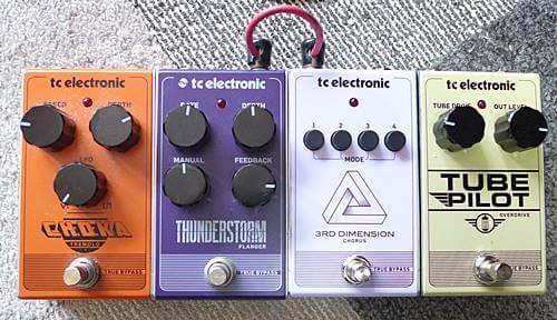 TC ELECTRONICのこのシリーズは並べて使えるの便利です