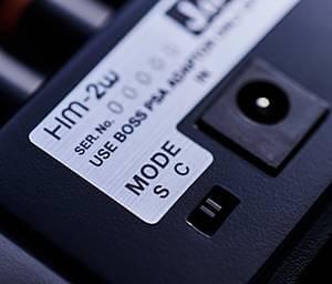 BOSS HM-2Wに搭載の2モードスイッチ