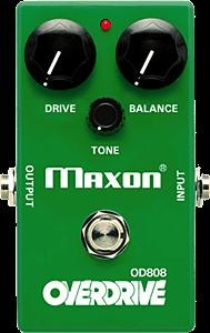 MAXONの歪みエフェクター一覧