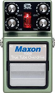 MAXON TOD9 True Tube Overdrive