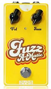 RYRA ( Rock Your Repaired Amp ) Fuzz A-Matic Yellow
