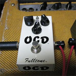 Fulltone OCDはEL34、EL84系のアンプと相性が抜群??