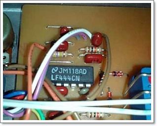FulltenderのオペアンプはLF444CN