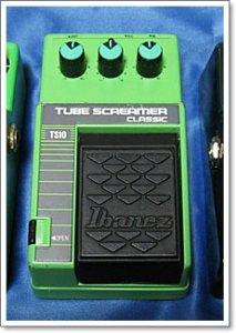 TS10チューブスクリーマーは80年代当時のオリジナル