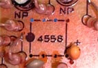 TS9 2ndリイシュー オペアンプの基盤