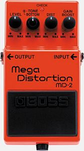 BOSS MD-2 ( Mega Distortion )