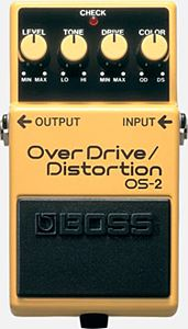 BOSS OS-2 ( Over Drive Distortion )