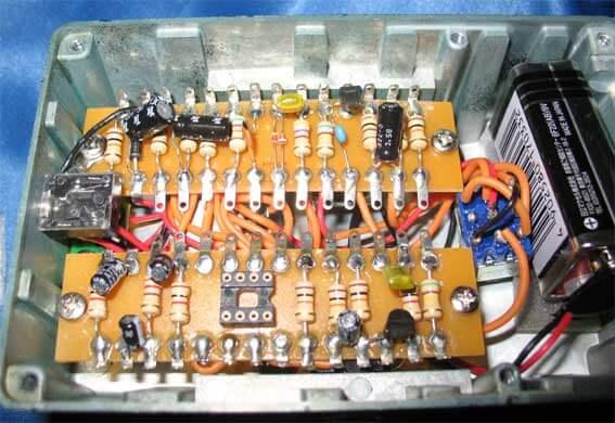 Ibanez TS808HWにソケットを付けてオペアンプの音の違いを確認