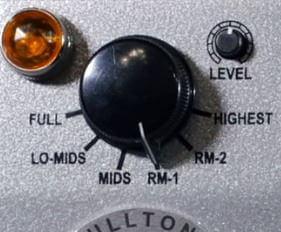 Fulltone Ranger に搭載の6モードスイッチ
