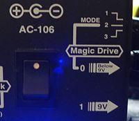 GUYATONEのパワーサプライ AC-106のMagic Drive
