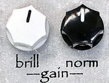 Menatone MenaWattのBrillとNormゲインコントロール