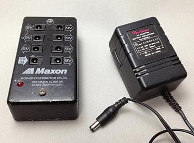 MAXONのパワーサプライPD-01