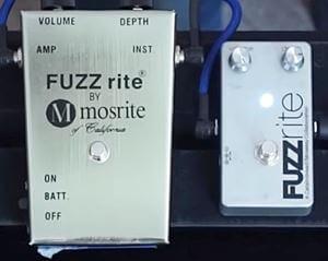 """Catalinbread Fuzzriteは、モズライト社の""""Fuzzrite""""再現したファズペダル。"""