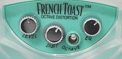 DANELECTRO French Toast DJ-13]のコントロールパネル