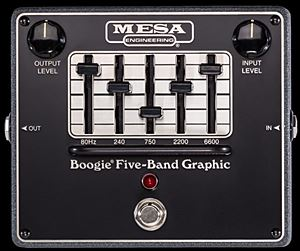 MESA BOOGIE Boogie FIVE-BAND GRAPHIC