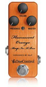 One Control Fluorescent Orange Amp In A Box