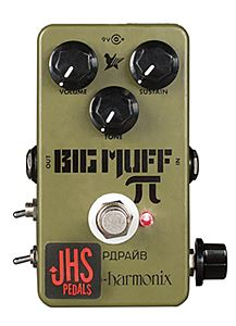 """JHS Pedals EHX Green Russian Pi """"Moscow Mod"""""""