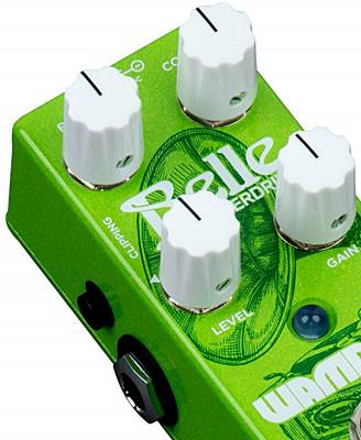 WAMPLER PEDALS Belle OverdriveのCLIPPINGスイッチ