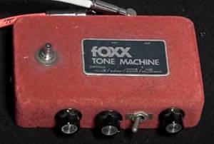 """foxx Tone Machine""オリジナル"