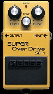 BOSS SD-1 ( Super Over Drive )