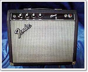 Fenderの小型アンプ ChampIIの真空管交換