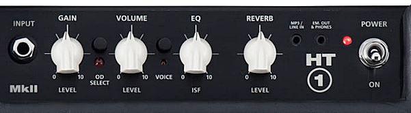 BLACKSTAR HT-1Rのコントロール