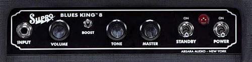 Blues King 8コントロールパネル