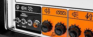 ORANGE Rockerverb 50に搭載のアッテネーター
