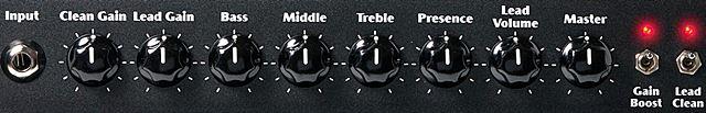 ENGL Ironballのコントロール