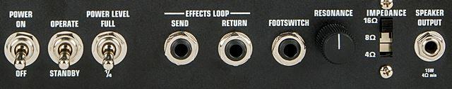 EVH 5150III 15W LBXのバックパネル