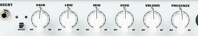 EVH 5150III 15W LBXのコントロール